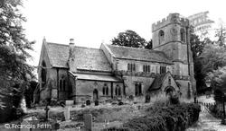Compton Bassett, St Swithin's Church c.1955