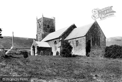 Compton Bishop, St Andrew's Church 1907