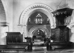 Compton, Church Interior 1906