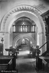 Compton, Church Interior 1912