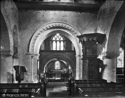 Compton, Church Interior 1931