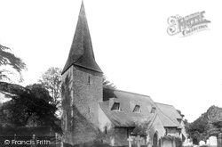 Compton, Church Of St Nicholas 1895