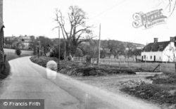 Compton, Church Road c.1955