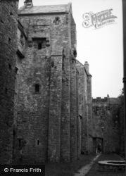 Compton, Compton Castle c.1955