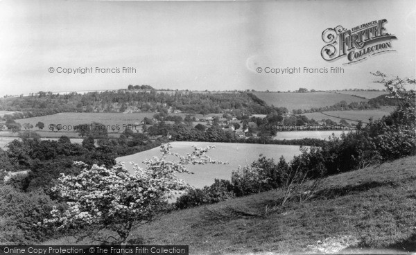 Photo of Compton, From The Downs c.1955