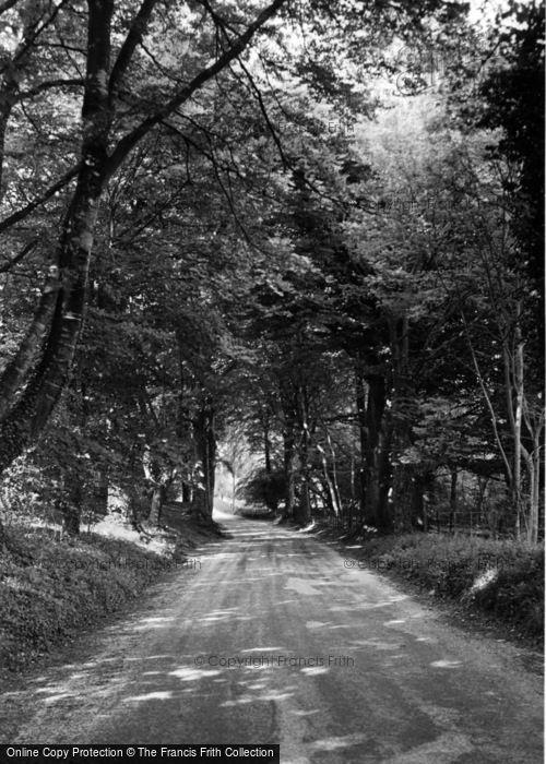 Photo of Compton, Littlegreen Road c.1955