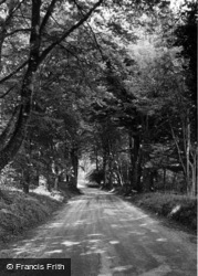Compton, Littlegreen Road c.1955