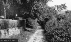 Compton, School Lane c.1960