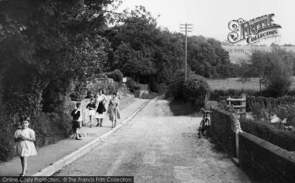 Photo of Compton, School Lane c.1960
