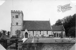 St Mary And St Nichola's Parish Church c.1960, Compton