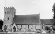 Compton, St Mary and St Nicholas' Parish Church c1955
