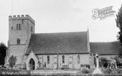 Compton, St Mary And St Nicholas' Parish Church c.1955