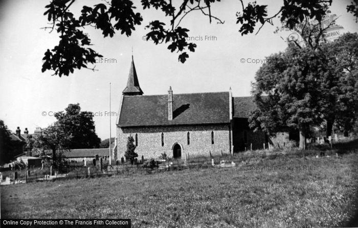 Photo of Compton, St Mary's Church c.1955