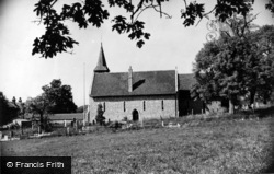 Compton, St Mary's Church c.1955