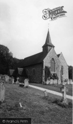 Compton, St Mary's Church c.1960