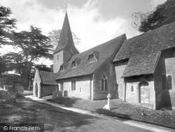 Compton, St Nicholas Church 1931
