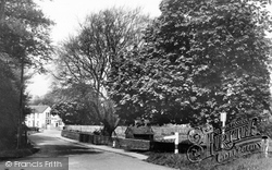 Compton, Village Approach c.1955