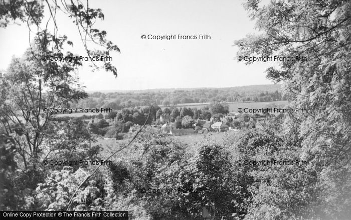 Photo of Compton, Village From West c.1955