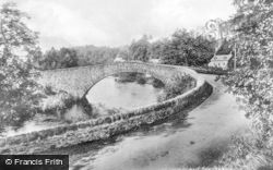 Comrie, Bridge Of Ross 1904