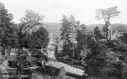 Comrie, From North West 1899