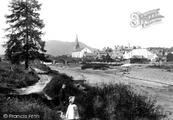 Comrie, From The East 1899