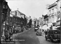Congleton, Bridge Street c.1950