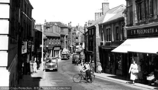 Photo of Congleton, Bridge Street c.1955