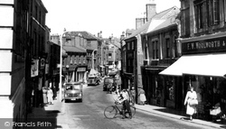 Congleton, Bridge Street c.1955