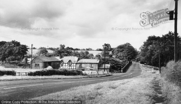 Photo of Congleton, Colley Bridge Mill c.1965