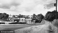 Congleton, Colley Bridge Mill c.1965