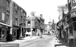 Congleton, Duke Street c.1955