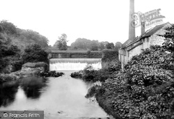 Congleton, Havannah, The Weir 1898