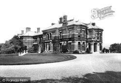Congleton, Henshall Hall 1898