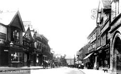 Congleton, High Street 1903