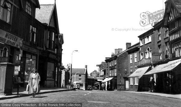 Photo of Congleton, High Street c.1955