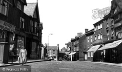 Congleton, High Street c.1955