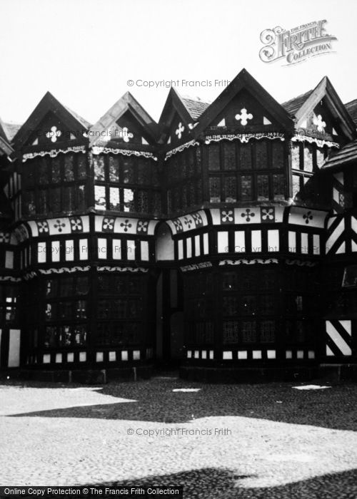 Photo of Congleton, Little Moreton Hall 1953