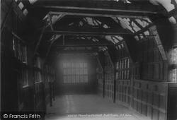 Congleton, Little Moreton Hall Ball Room 1902