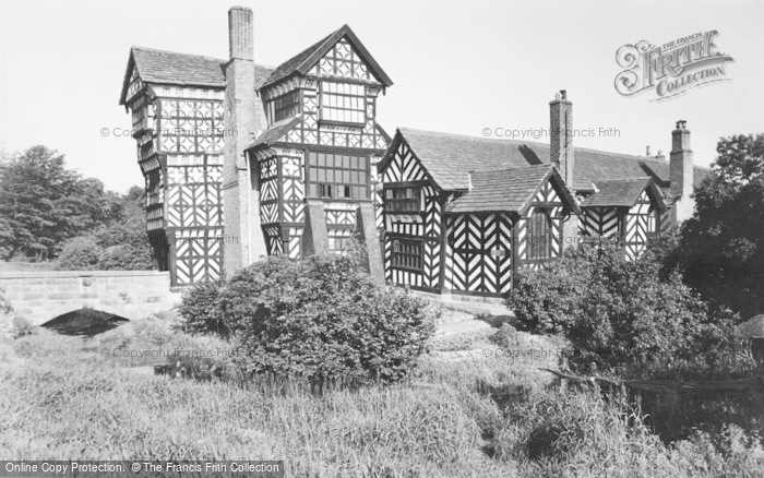 Photo of Congleton, Little Moreton Hall c.1955