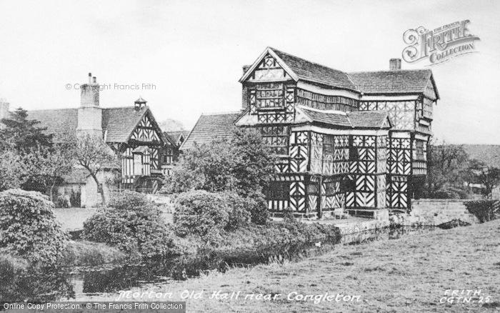 Photo of Congleton, Little Moreton Hall c.1955