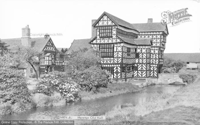 Photo of Congleton, Little Moreton Hall c.1960