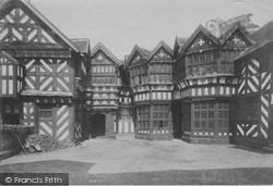 Congleton, Little Moreton Hall Courtyard 1902
