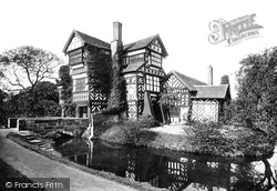 Congleton, Little Moreton Hall From The East 1897