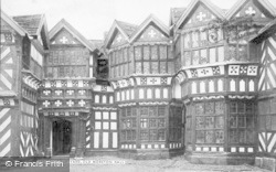 Congleton, Little Moreton Hall, The Courtyard c.1910