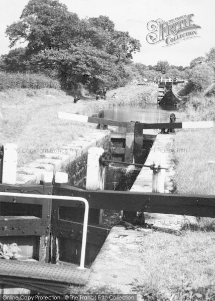 Photo of Congleton, Lock On The Canal c.1965