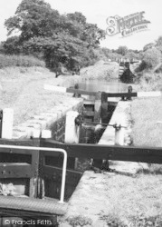 Congleton, Lock On The Canal c.1965