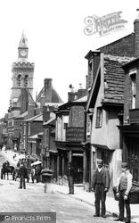 Congleton, Men In Lawton Street 1898