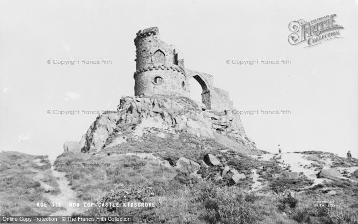 Photo of Congleton, Mow Cop Castle c.1960