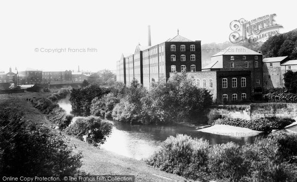 Photo of Congleton, Old Mill 1902