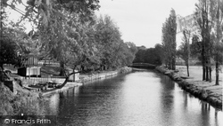 Congleton, Park And The River Dane c.1960